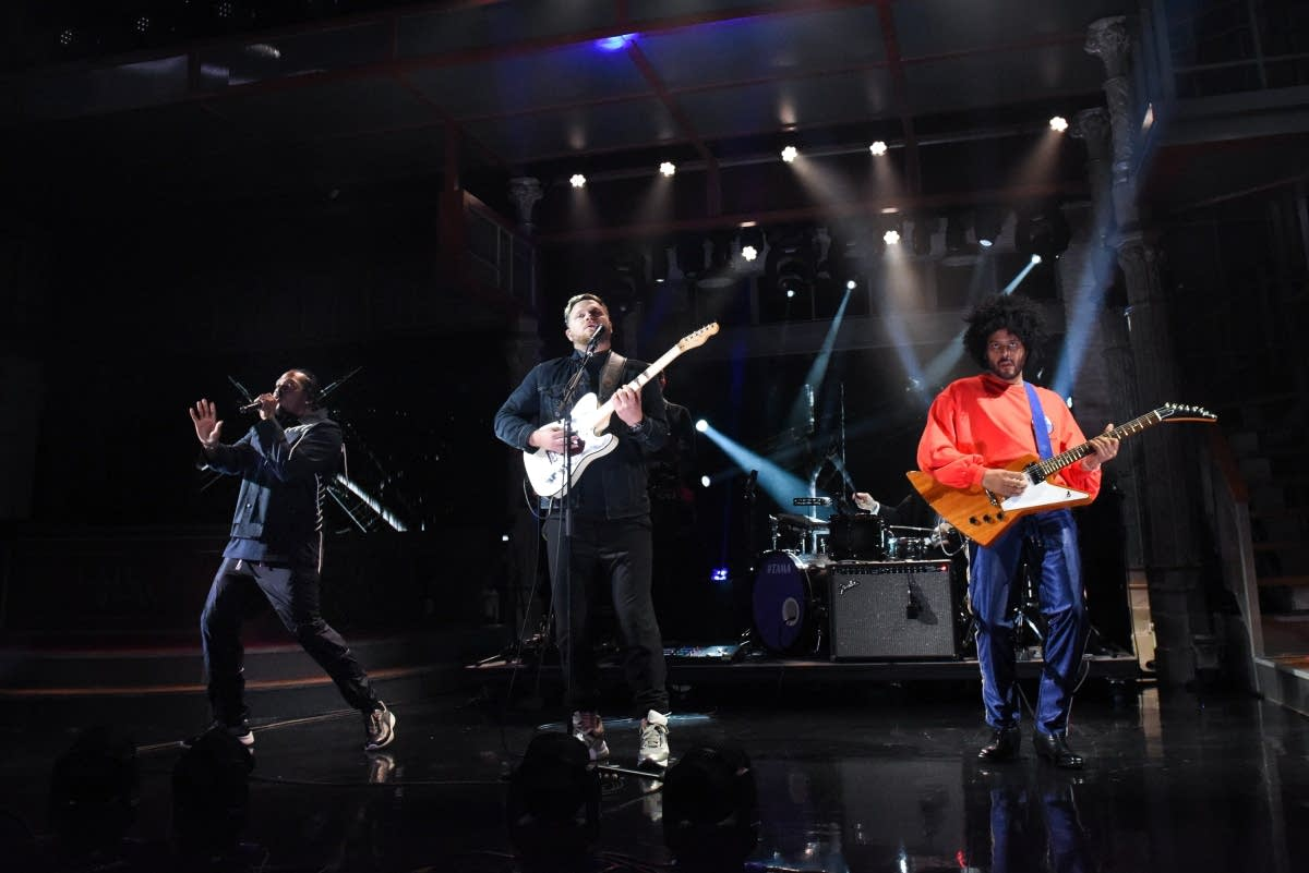 alt-J, Pusha T and Twin Shadow perform on 'The Late Show'