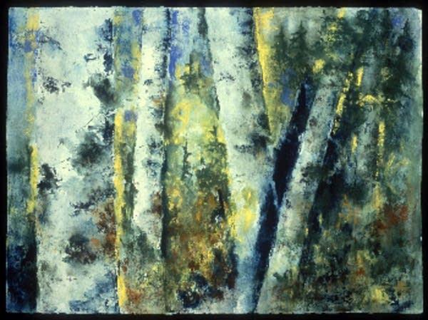 Birches #6