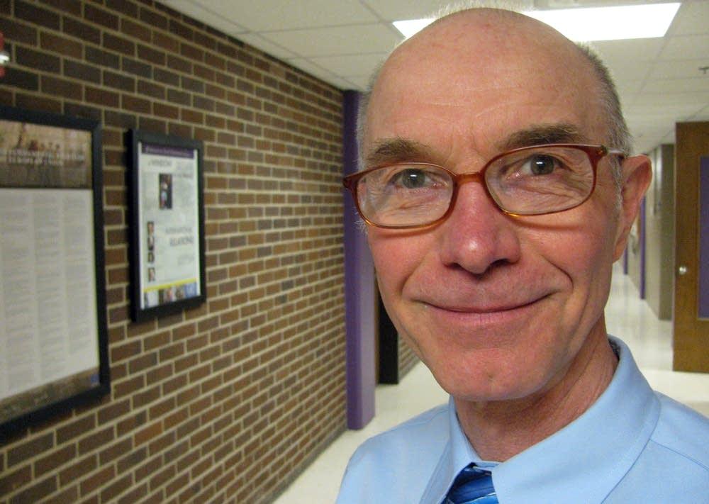 Political science professor Joe Kunkel