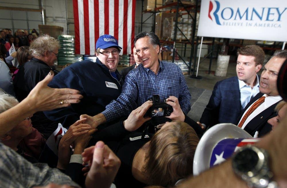 Mitt Romney in Minn.