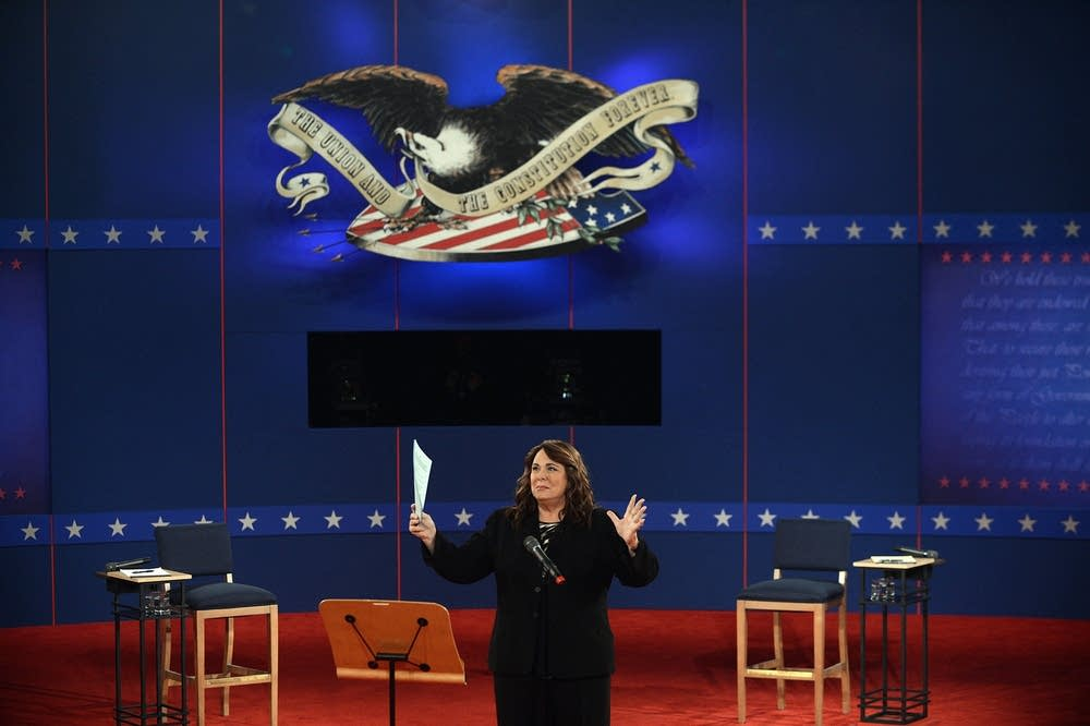 Moderator Candy Crowley