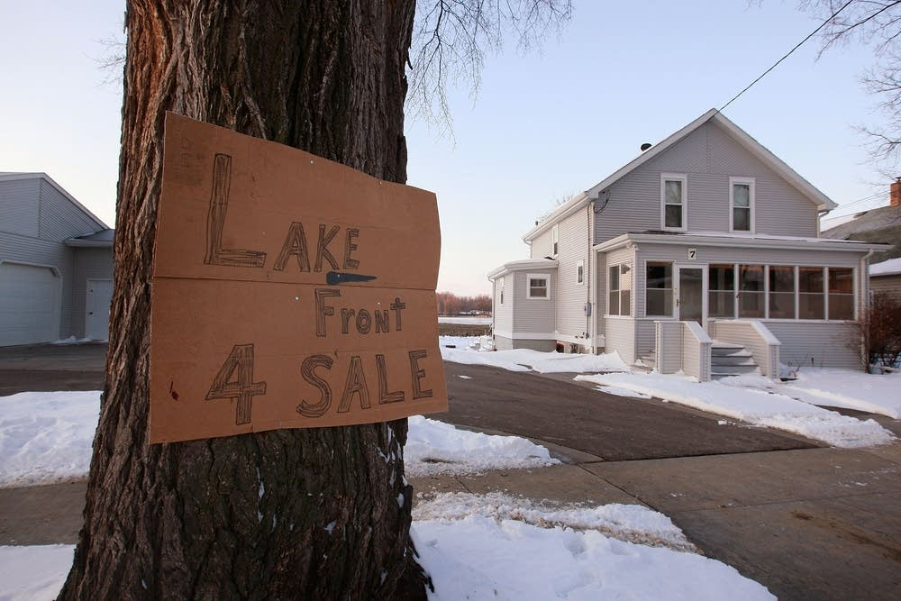 New 'lakefront' property in Fargo