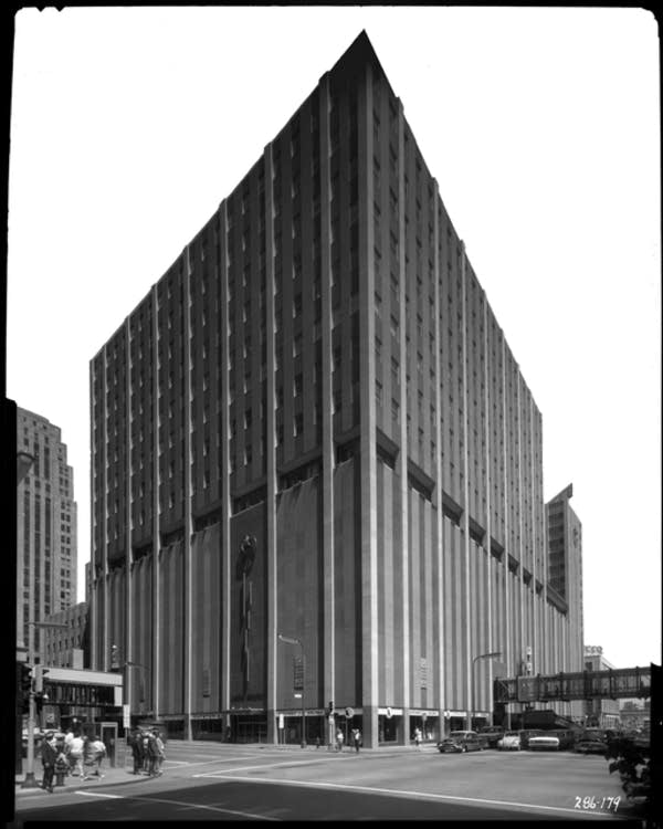 Cargill once occupied the Northstar Center, 1963