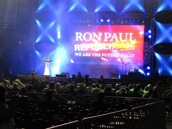 Ron Paul rally