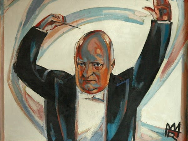 Painting of Paul Hindemith