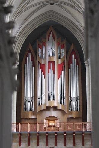 2008 Schuke at Magdeburg Cathedral, Germany