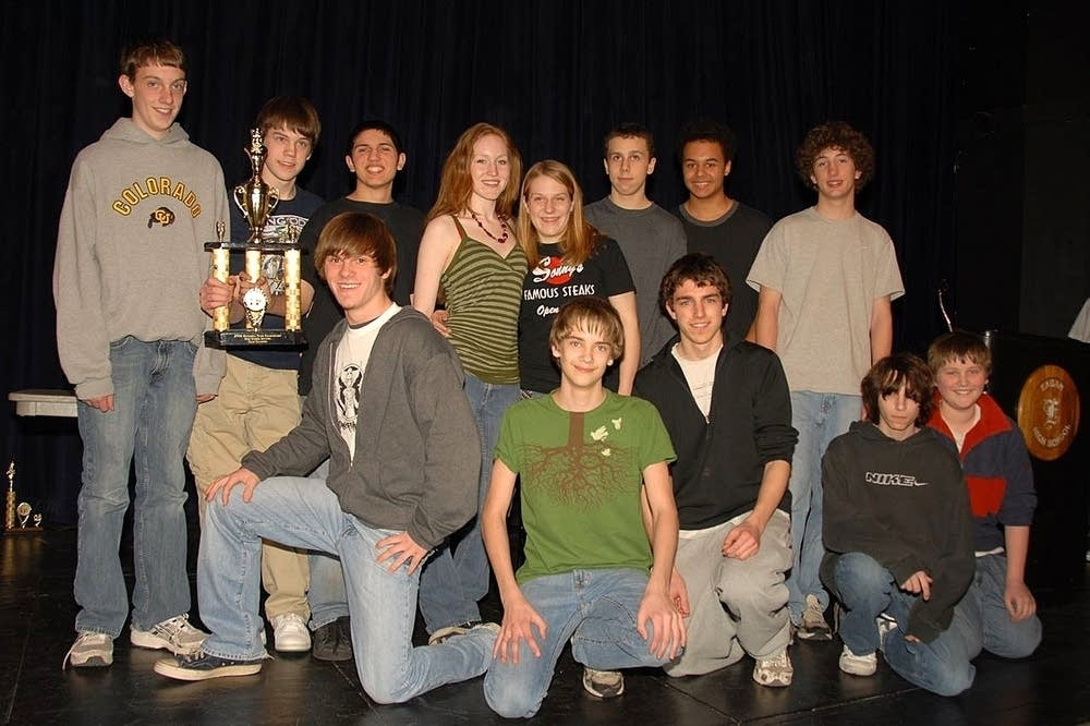 The Southwest High School chess team