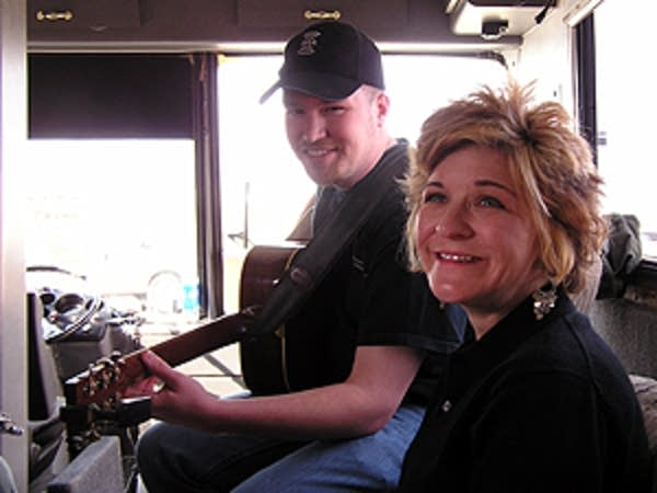 Valerie Smith and guitarist Jonathan Maness