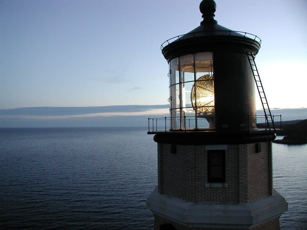 Split Rock Lighthouse lens