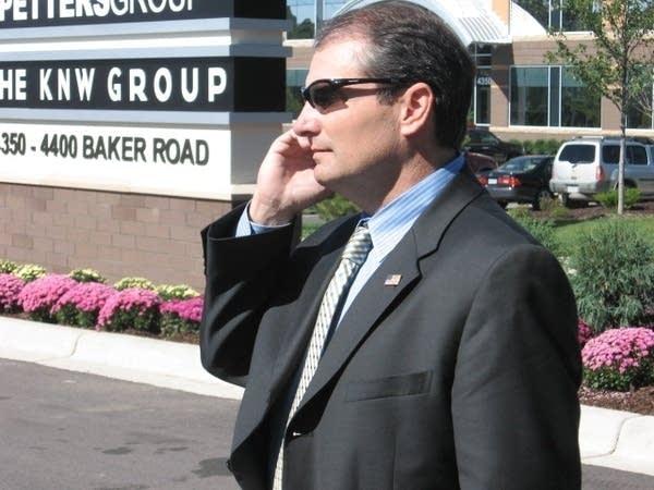 Special agent Paul McCabe