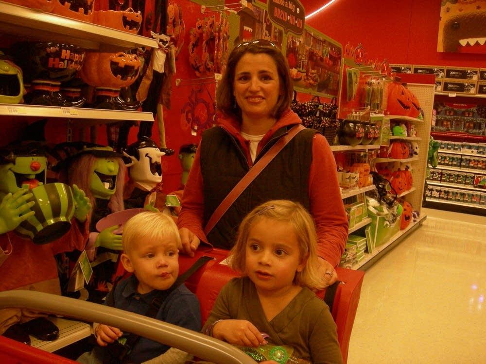 Target shopper Vicki Johnson