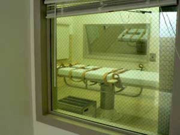 South Dakota's execution chamber