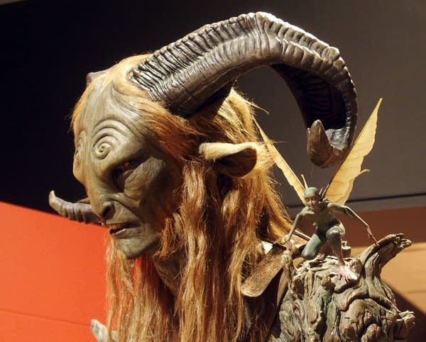 Another popular del Toro character is the Faun from Pan's Labyrinth.
