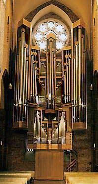 1978 Rieger organ at Rateburg Cathedral, Germany