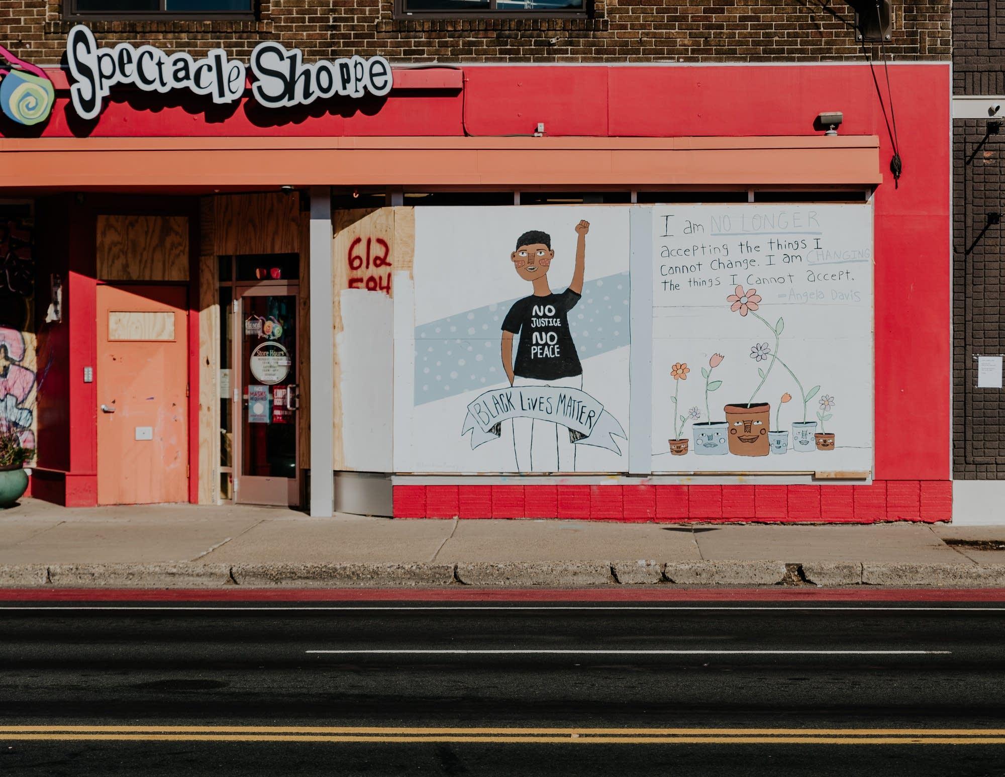 Twin Cities murals honoring George Floyd