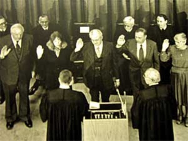Court of Appeals sworn in