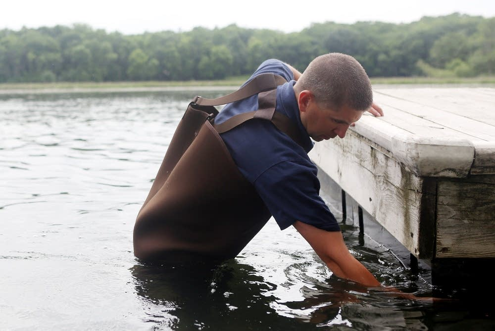 Checking a dock