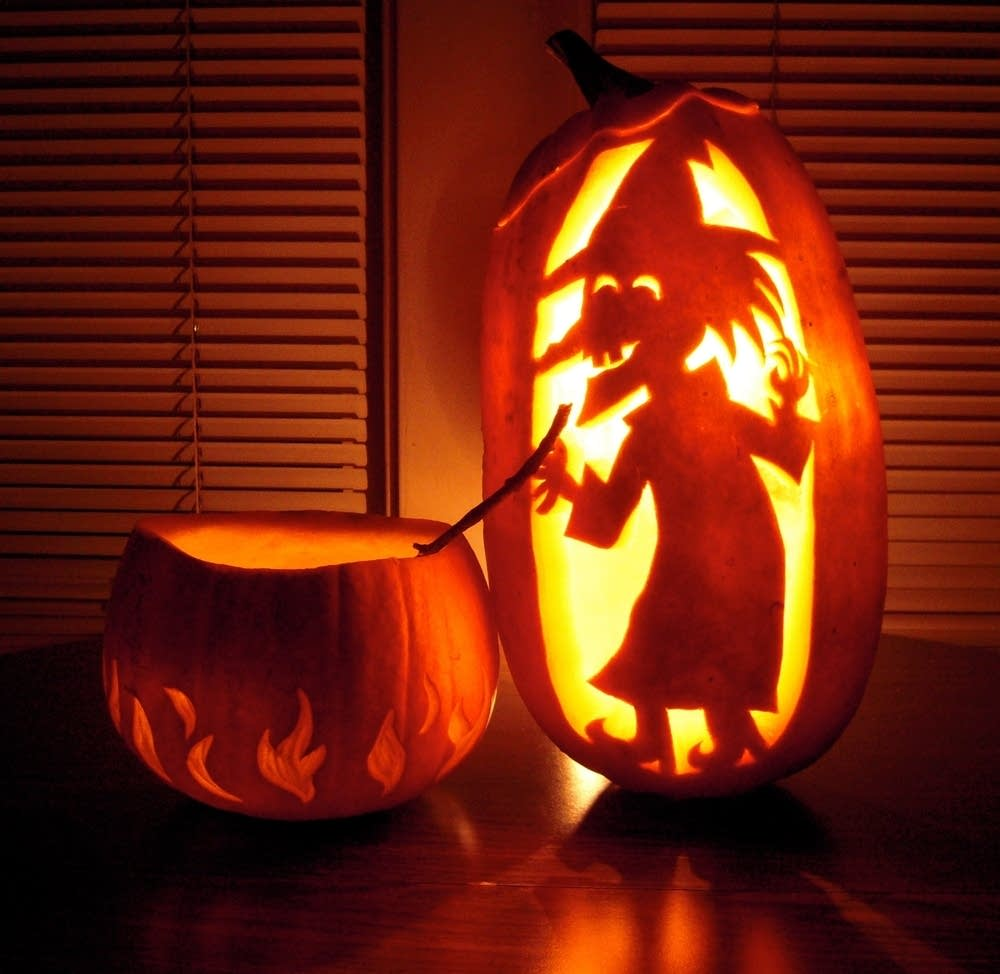 A Pumpkin Carved By David LaRochelle