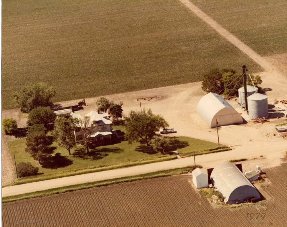 Jacobson farm in Nebraska, 1979