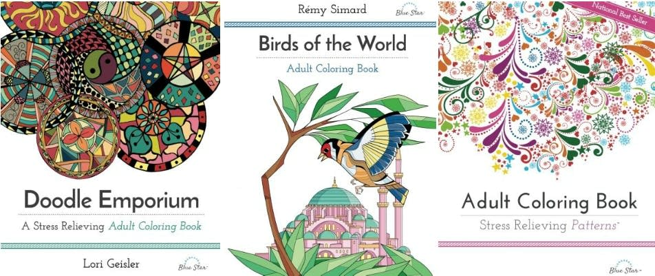 A Selection Of Coloring Books