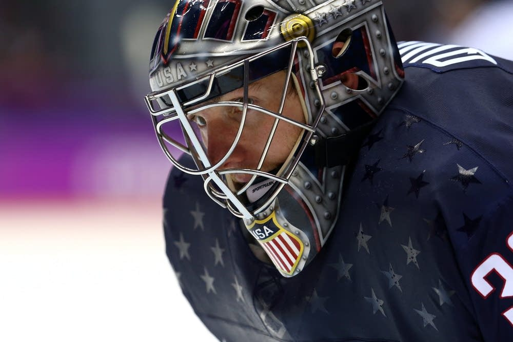 Jonathan Quick #32 of the United States