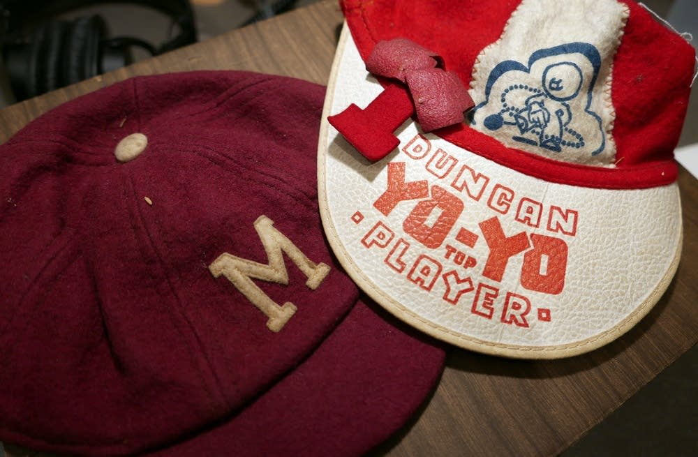 Marvin Anderson's college and prize beanies