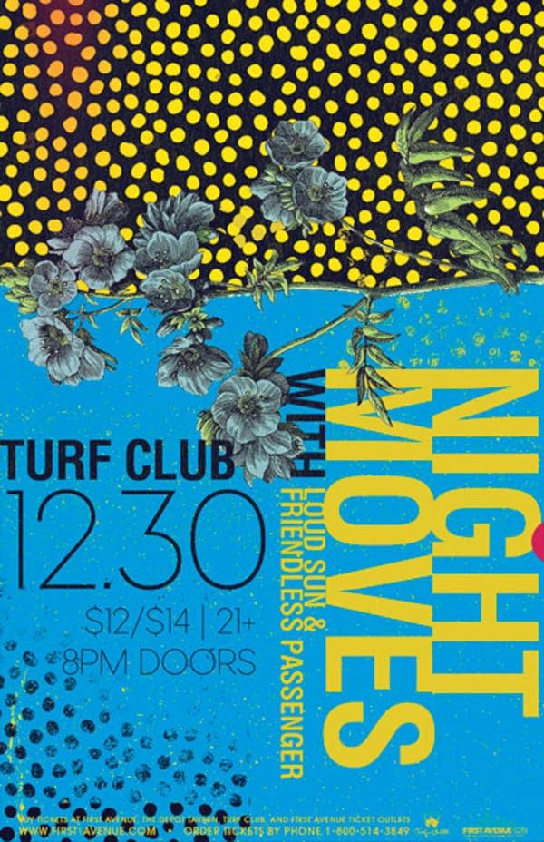 Night Moves Turf Club show