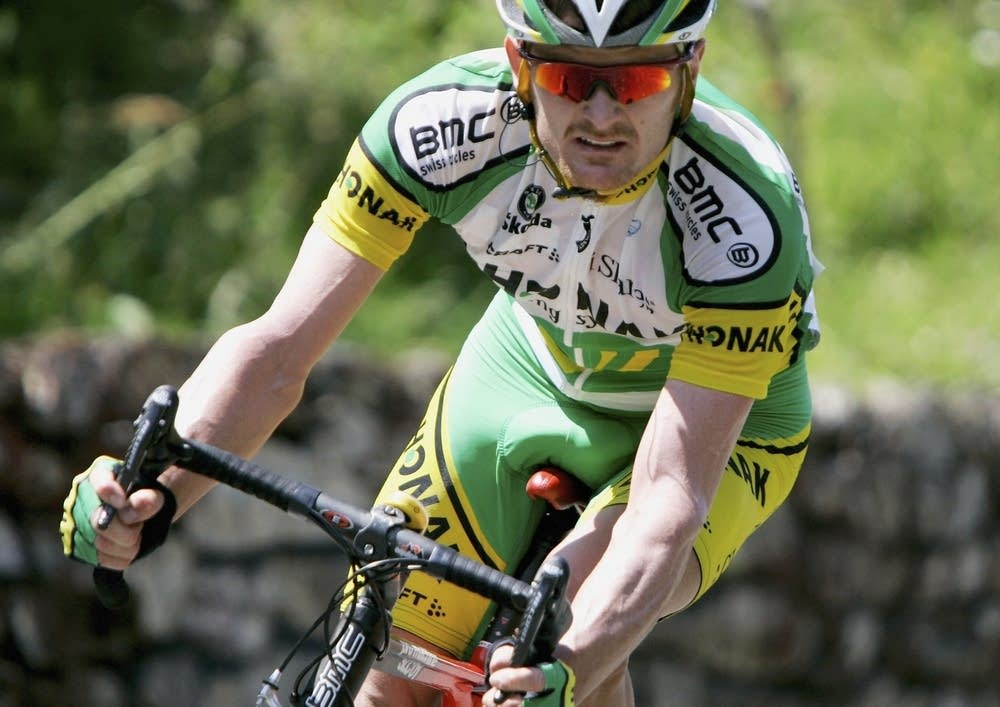 Floyd Landis during Stage 17 of the Tour de France