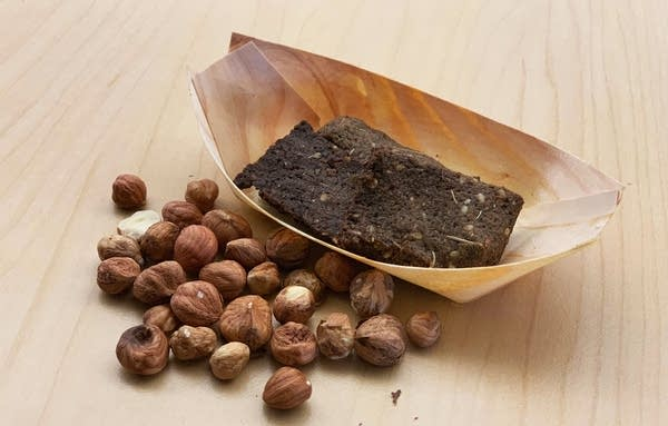 Hazelnuts and buckwheat hazelnut crackers