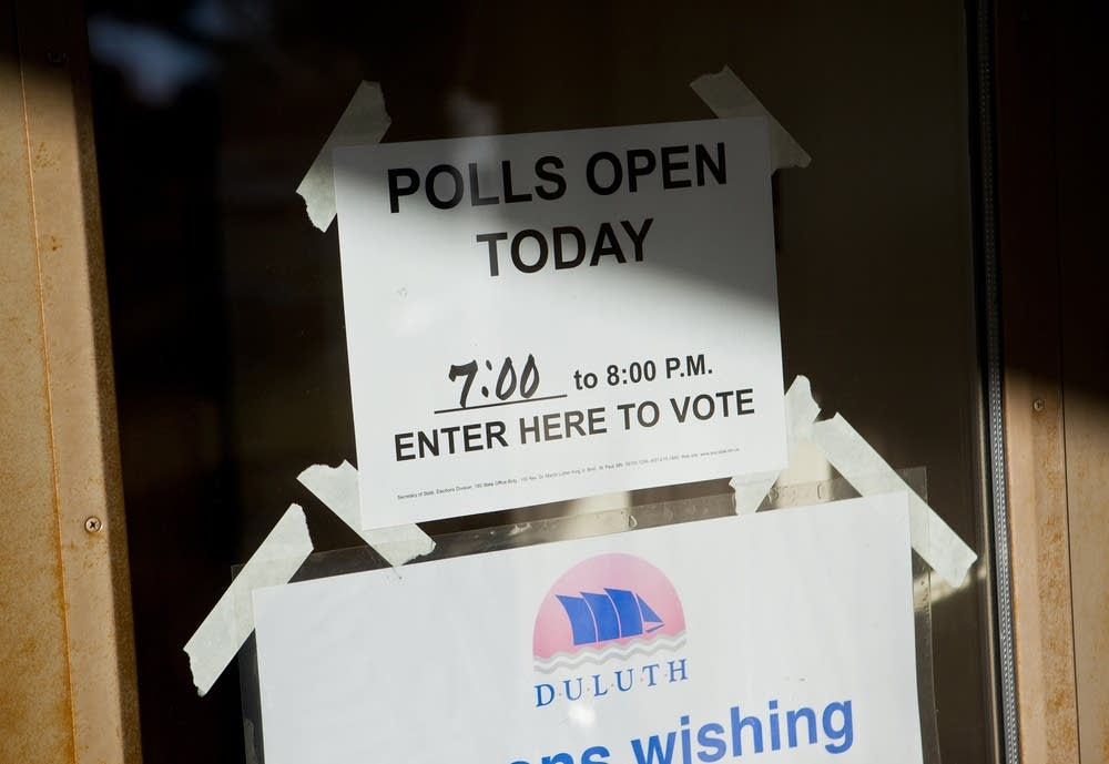 Duluth polling place
