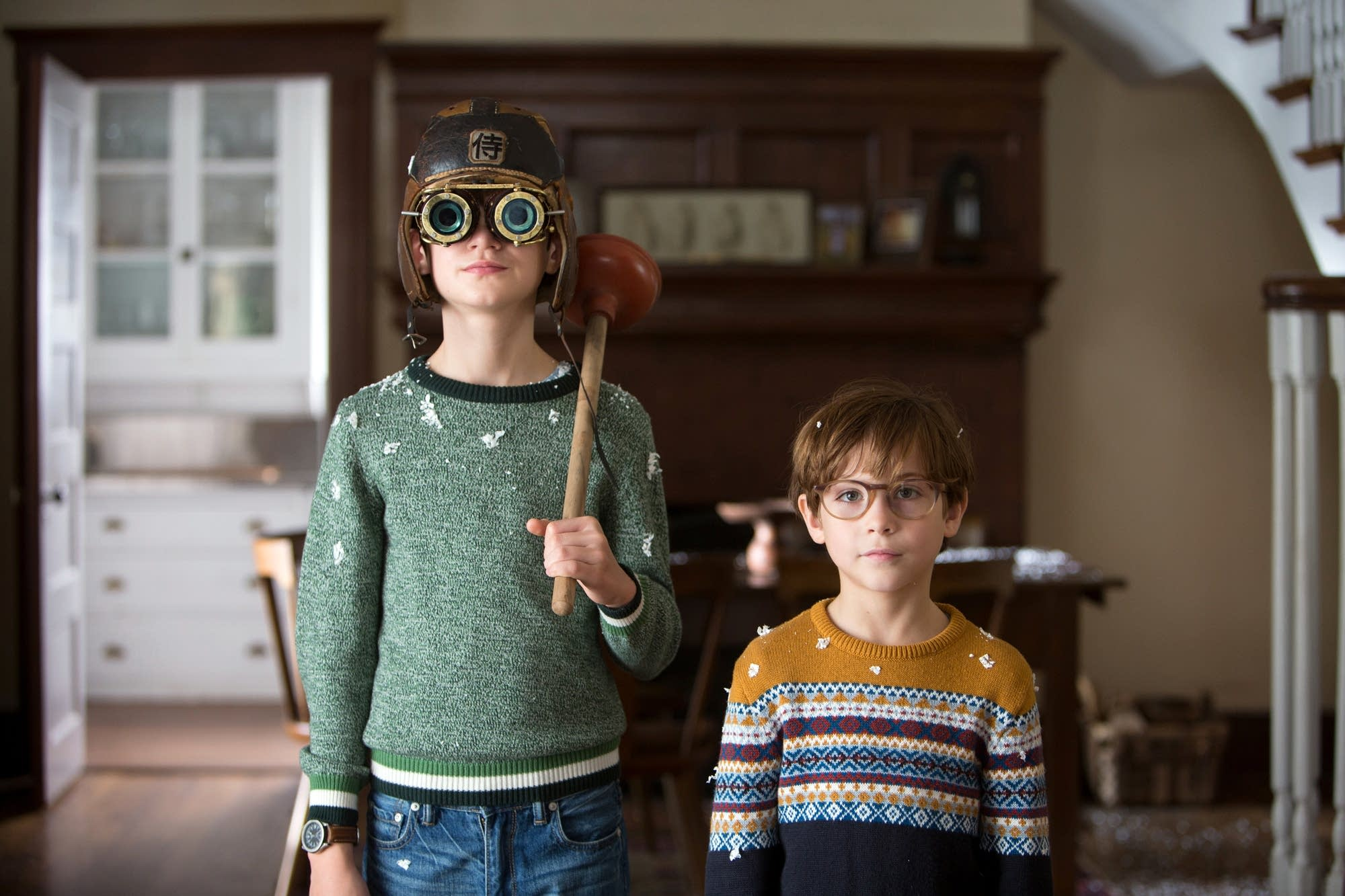 Jaeden Lieberher as Henry and Jacob Tremblay as Peter