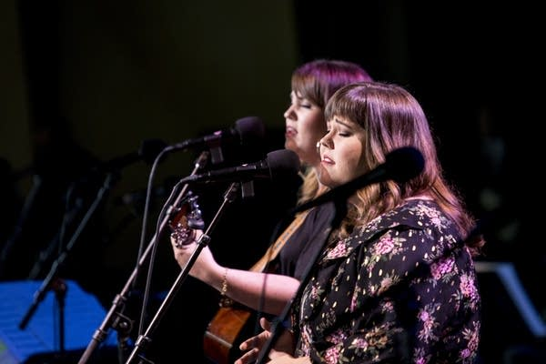 The Secret Sisters perform