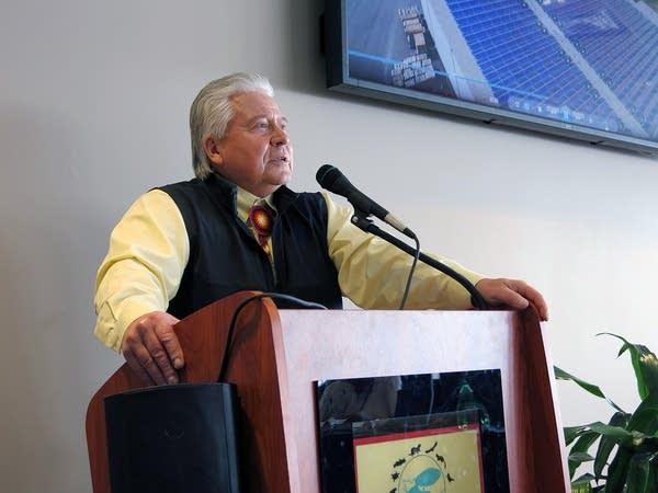 Red Lake development director Eugene McArthur