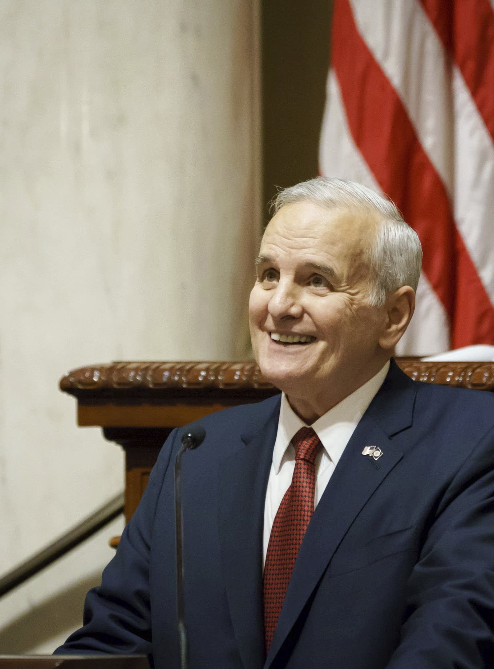 Mark Dayton delivers his final annual State of the State Address