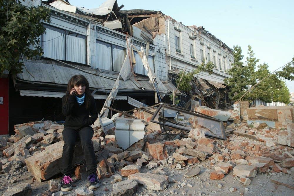 Debris in Talca