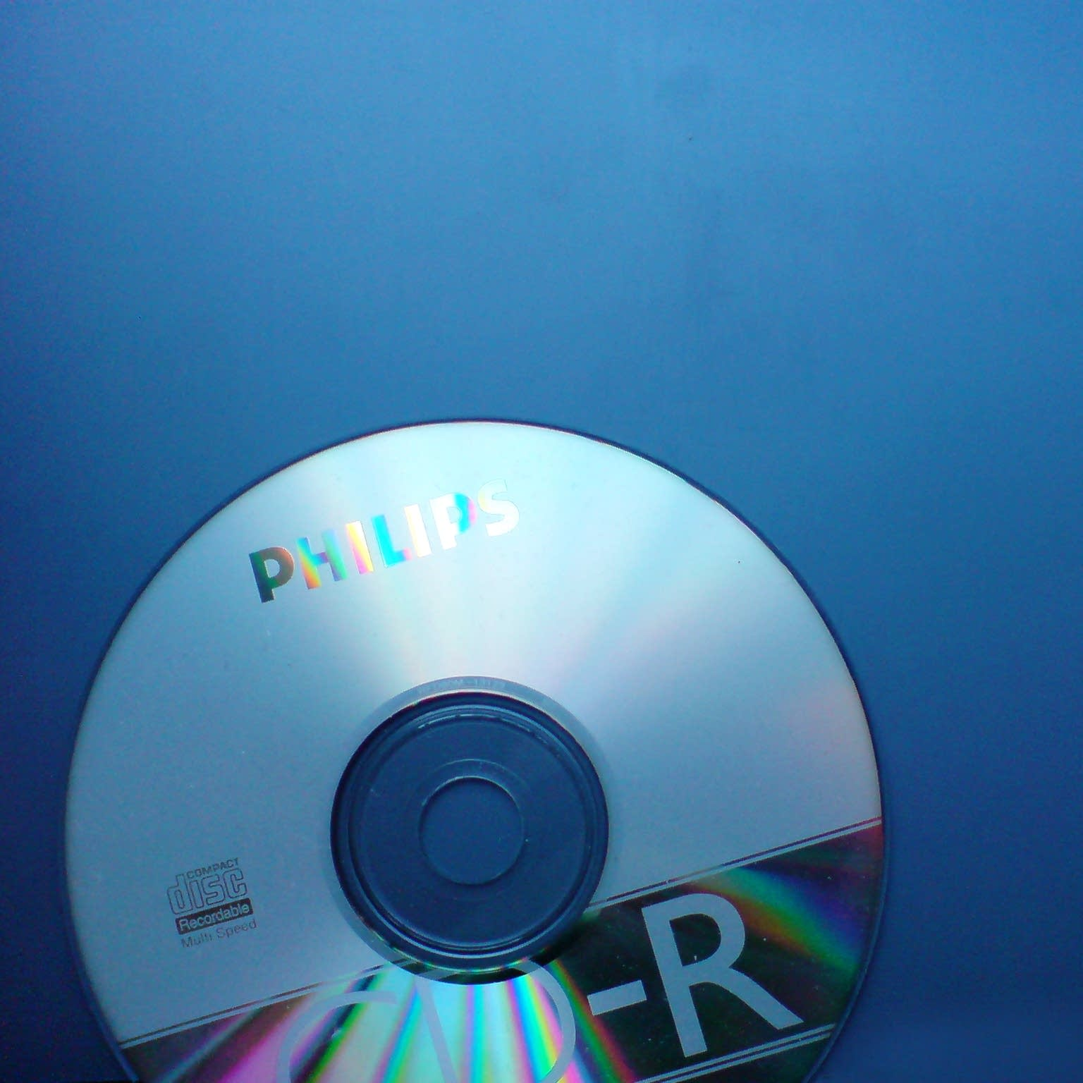 A recordable compact disc.