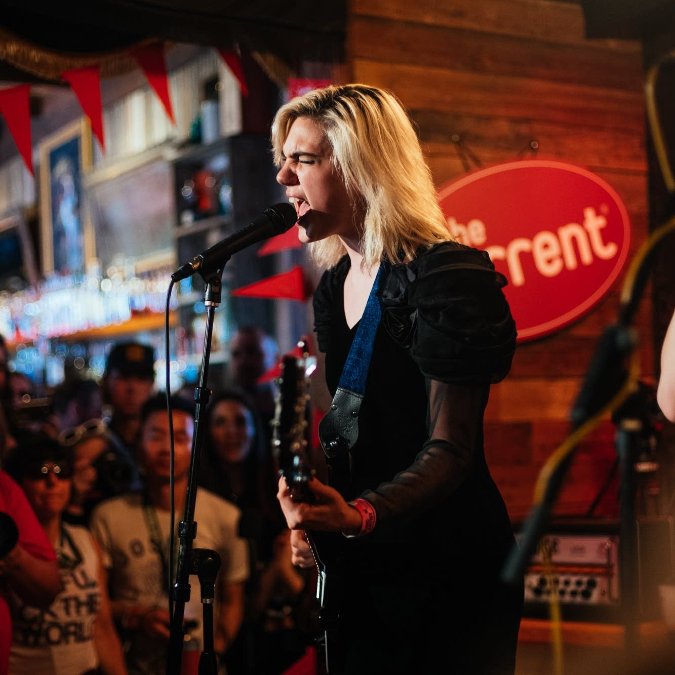 Sunflower Bean perform at PledgeHouse during SXSW
