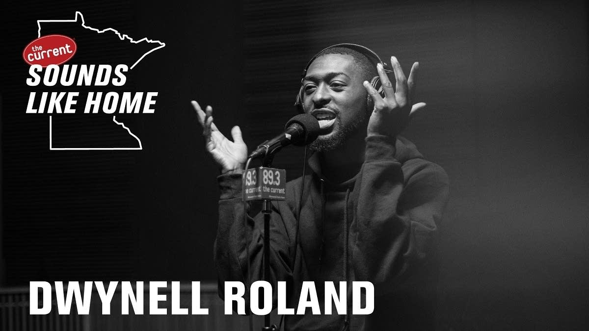 Digital flyer for Dwynell Roland's Sounds Like Home performance.
