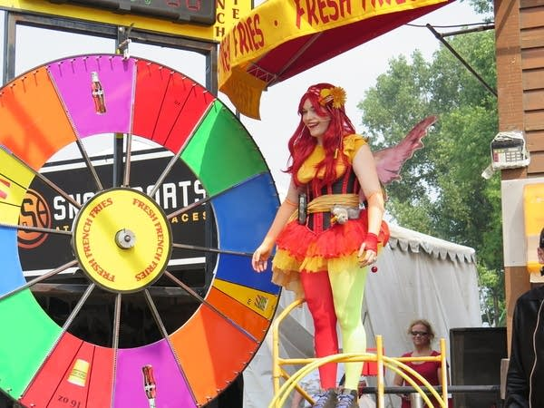 Cherry Fairy at the Minnesota State Fair