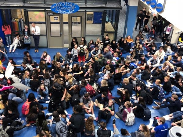 Hopkins High School sit-in