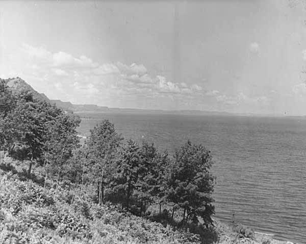 Lake Pepin, circa 1948.
