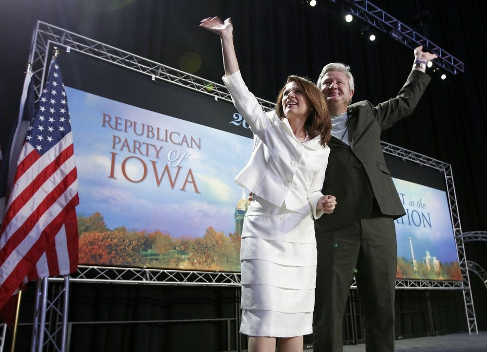 The Bachmanns in Iowa