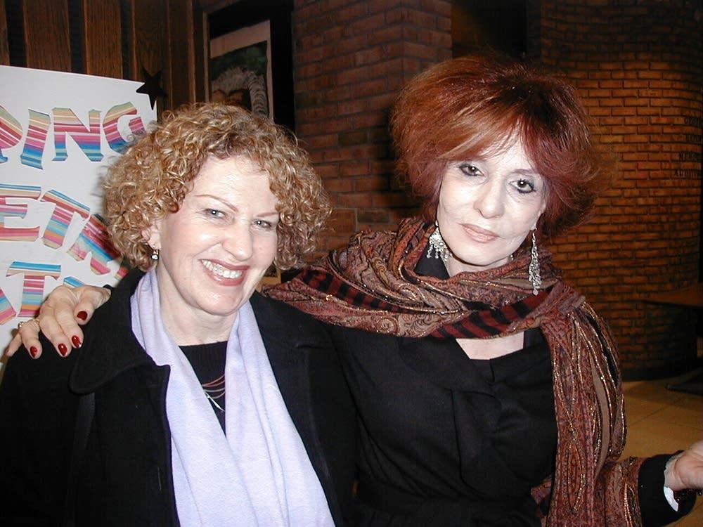 Venus Khoury-Ghata and Agi Mishol