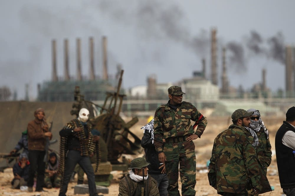 Libyan volunteers