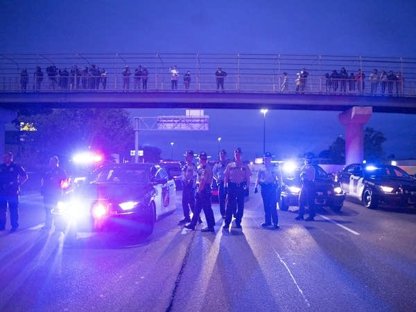 Police shooting protest in Richfield