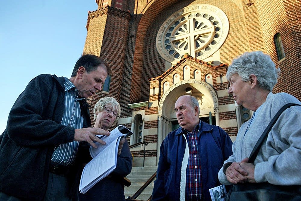 St. Andrew's parishioners