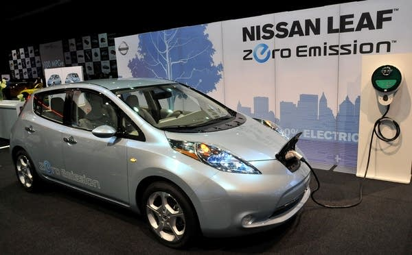 A Nissan Leaf protoype