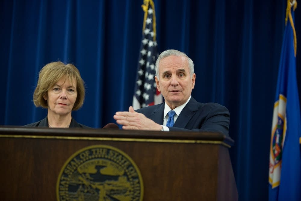 Governor Dayton and Lieutenant Governor Smith