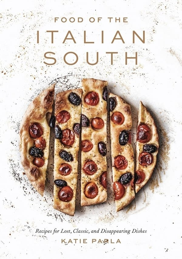 book cover with sliced crust topped with charred tomatoes