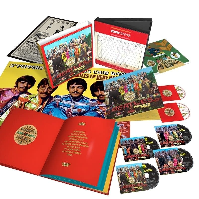 The 50th anniversary edition of Sgt. Pepper's Lonely Hearts Club Band